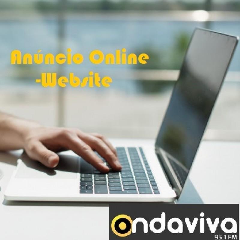 Anúncio Online - Website